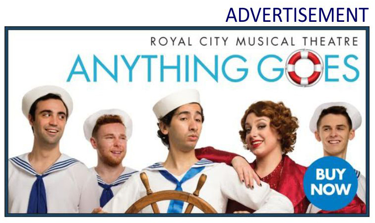 RCMT 'ANYTHING GOES' @ Massey Theatre